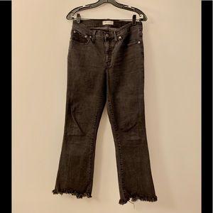 Madewell High Waist Ankle Cali Demi-Boot Cut Jeans